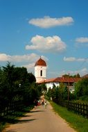 road to the orthodox church