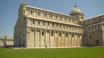 pisa cathedral building, italy