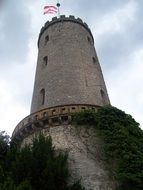 Sparrenberg Castle is a restored fortress in the Bielefeld-Mitte district of Bielefeld, Germany