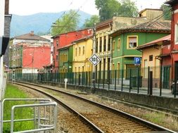 railway station in the city of Langreo