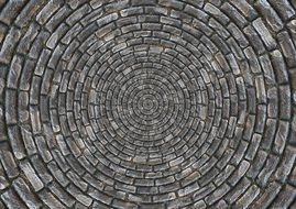 stones patch circle arches pattern
