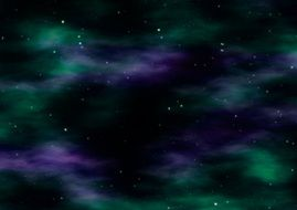 dark space starry sky