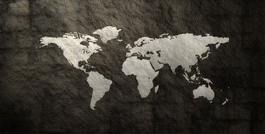 world map globe pattern texture