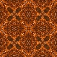 abstract orange and brown pattern form