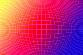 grid colorful figure abstract pattern