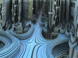 3 d visualization of cyberspace