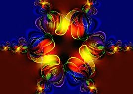 fractal symmetry pattern abstract