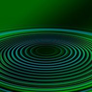 wave green blue concentric