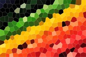 mosaic structure pattern background