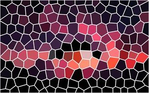 shape mosaic structure pattern