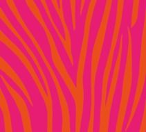 textile pattern pink and orange design