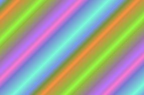 bright multi-colored lines on a diagonal