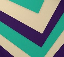 violet turquoise and white geometric pattern