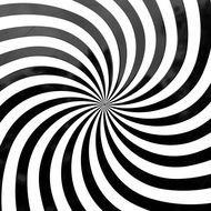 optical deception graphics of rotating zebra stripes