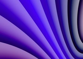 wave pattern purple and blue