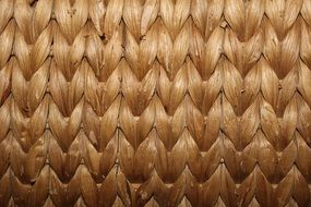 rattan braid woven structure