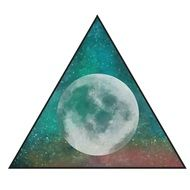 triangle with space illustration