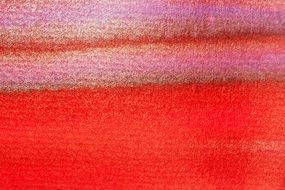 watercolor tusche indian ink wet red color