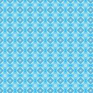 blue pattern ornament design