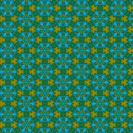 geometric blue pattern