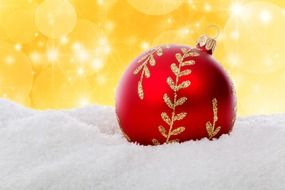 christmas ball bauble celebration