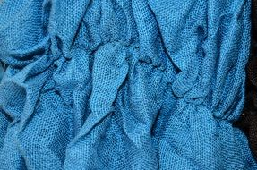 blue color material texture the background