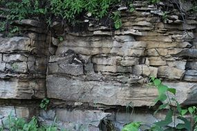 sedimentation stone rocks geology
