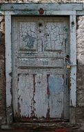 old door antique texture