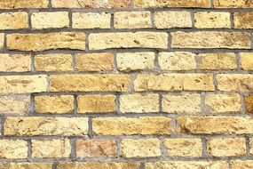 golden color wall stones