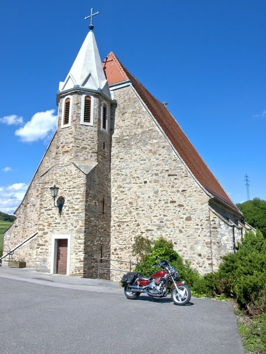 parish church in artstetten pöbring