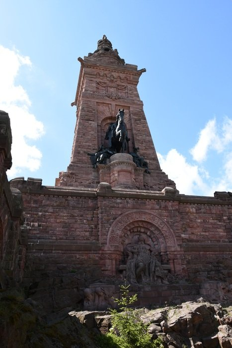 monument of barbarossa in germany