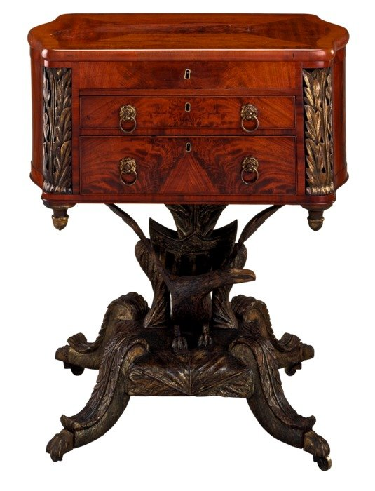 work table furniture antique