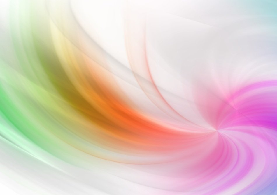 colorful waves and lines abstract background