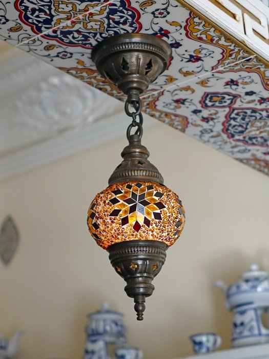 moroccan mosaic lighting bright decor of the house