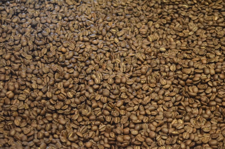 natural coffee beans espresso roasted