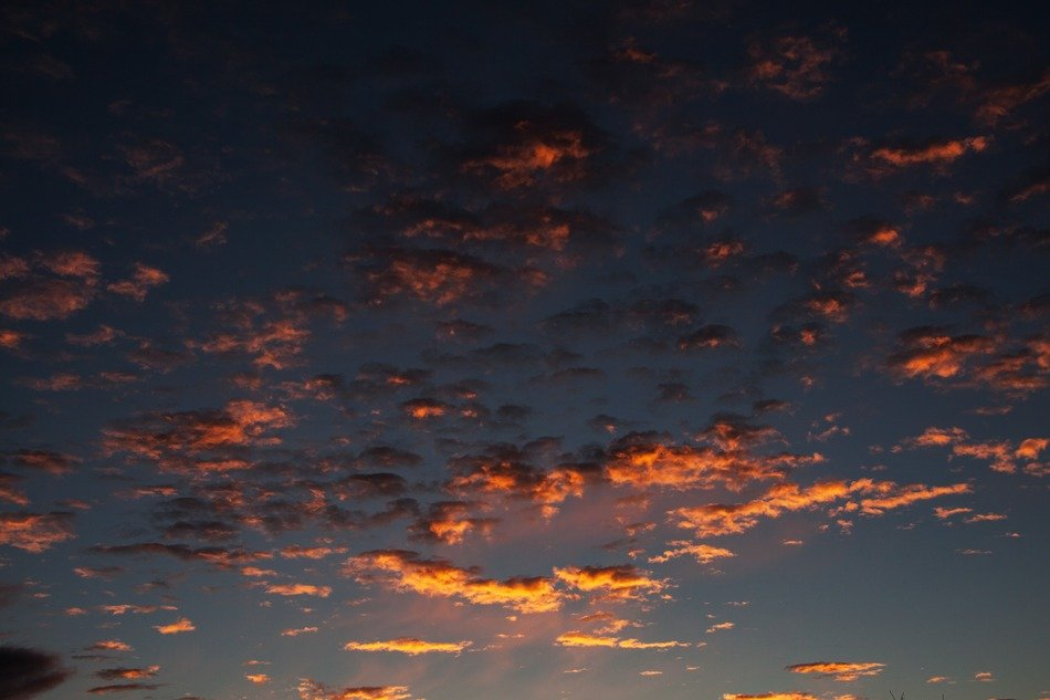 sunrise clouds dark blue sky wallpaper
