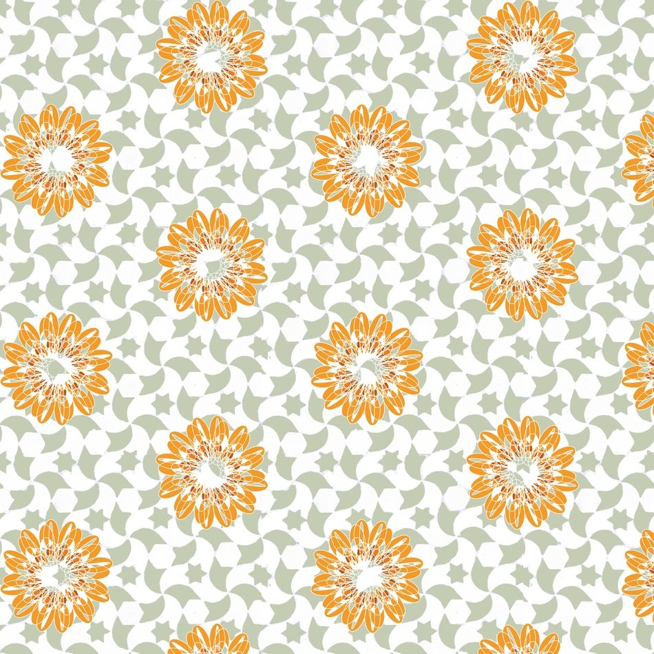 stamping pattern background textile design