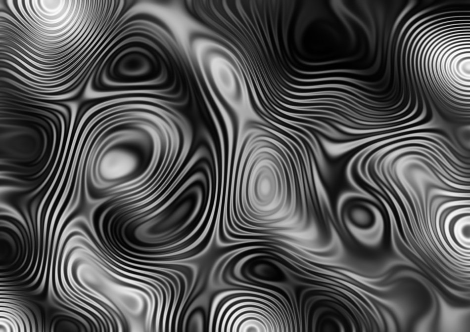 interference wave abstract pattern monochrome