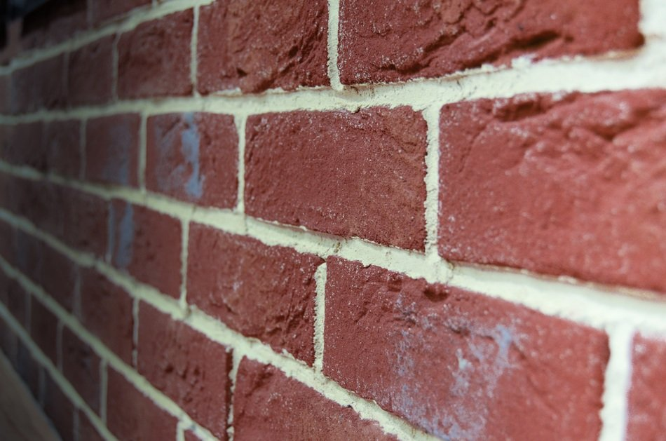 Brick wall texture the background