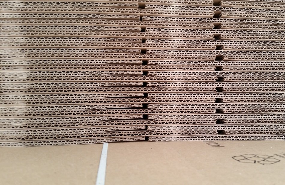 bei cardboard packing material