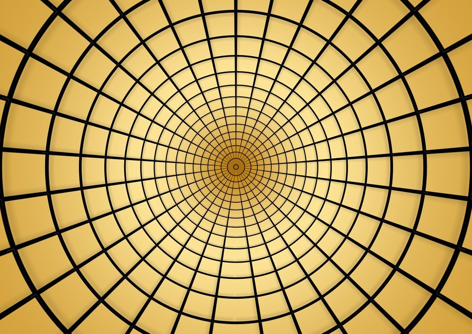 rings circle concentric background pattern