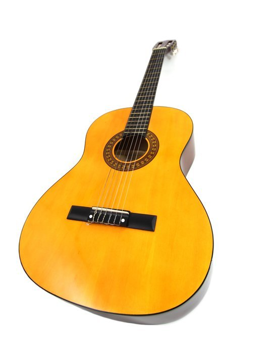 accord acoustic instrument wooden guitar