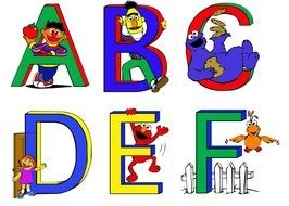 Colorful Alphabet Letters Clipart