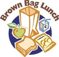 Brown Bag Lunch clipart