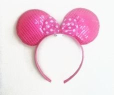 Colorful Minnie Mouse Ears
