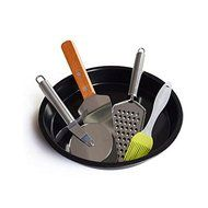Bakeware Sets kitchen pizza cutter kitchen pizza stone Kitchen Pizza Bakeware Suits Nonstick Pan Cutting Utensils...