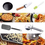Bakeware Sets kitchen pizza cutter kitchen pizza stone Kitchen Pizza Bakeware Suits Nonstick Pan Cutting Utensils... N2
