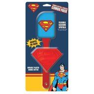 DC Comics Character Cookie Cutter and Spatula - Choose from Batman, Superman, or Wonder Woman Combo Pack (Wonder... N2