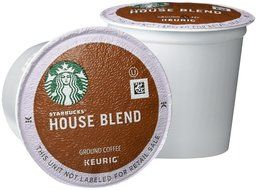 Starbucks House Blend K-Cups, 72 Count