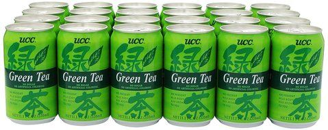 UCC Green Tea, 11.1-Ounce Cans (Pack of 24)